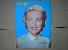 GRACE KELLY TO CATCH A THIEF COVER RIVISTA CINEMA 1955 ITALIAN MAGAZINE