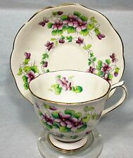 """LOVELY ROYAL ALBERT  BONE CHINA """"SWEET VIOLETS"""" CUP & SAUCER"""