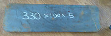 330mmx100mmx5mm square/rectangle  Mild Steel Sheet Plate