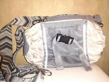 LULULEMON women's tan/gray purse