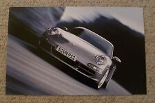 2005 Porsche Carrera Coupe Showroom Advertising Poster RARE!! Awesome L@@K