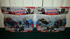 Optimus Prime Blackarachnia Megatron Prowl 2-Pack Animated Transformers Wal-Mart