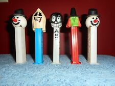 VINTAGE HALLOWEEN PEZ DISPENSER LOT MADE IN SLOVENIA & HUNGARY (5) WITCH GHOST