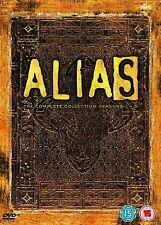 Alias - Season 1-5 - Complete (DVD, 2006, 30-Disc Set, Box Set) REGION 2