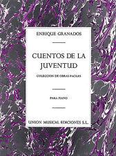 Enrique Granados cuentos de la juventud Op. 1 imparare FACILE PIANOFORTE MUSICA LIBRO