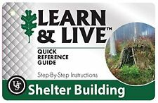 UST Shelter Building How-To Quick Reference Cards