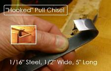 GuitarTechs HOOK CHISEL for Guitar Brace Removal Luthier Tool