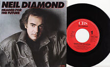 "NEIL DIAMOND - HEADED FOR THE FUTURE Very rare 1986 dutch 7"" P/S Single Release!"