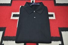 Ralph Lauren Purple Label Made in Italy 100% Cotton Long Sleeve Polo Shirt M