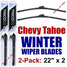 2000-2016 Chevy Chevrolet Tahoe Winter Wipers 2-Pack - Snow Ice Cold - 35220x2