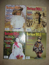 Antique Doll Collector Magazines 2009 - 2013 - 4 issues