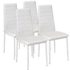 4x Chaise de salle à manger ensemble salon design chaises cuisine neuf blanc