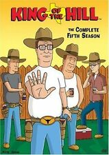 King of the Hill ~ Complete 5th Fifth Season 5 Five ~ BRAND NEW 3-DISC DVD SET