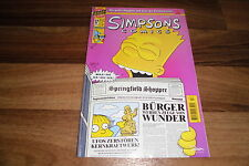 SIMPSONS COMICs  # 17 --  in 1. Auflage 1996 // mit Radioactive Man & Bartman