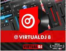Virtual DJ 8 Full Pro Software Controller Mac & Windows Portable Licensed New
