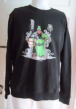 NWT Japanese Anime Samurai Sword Balloon Cartoon Crewneck Sweatshirt Sweater XL