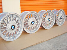 BMW 15 BBS #5 E30 Euro Weaves 4x100 Genuine Factory OEM Wheels 325ix 325is 318is