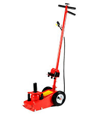 35 TON AIR HYDRAULIC FLOOR JACK / HD TRUCK POWER LIFT W HEIGHT ADAPTER