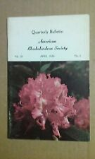 Quarterly Bulletin American Rhododendron Society April 1974 Volume 28 No. 2