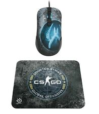 SteelSeries Kana CS:GO Counter-Strike: Global Offensive Gaming Mouse + Mouse Pad