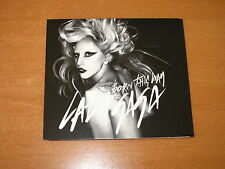 LADY GAGA - BORN THIS WAY - AUSTRALIA CD SINGLE 4 TRACKS * EXCELLENT LIKE NEW *