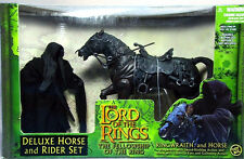 Lord of the Rings Ringwraith and horse rider deluxe set
