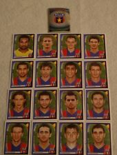 FIGURINE CALCIATORI PANINI CHAMPIONS LEAGUE 2007/08 SQUADRA STEAUA CALCIO ALBUM