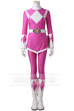 Power Rangers Zyuranger Mei Cosplay Ptera Ranger Costume Pink Costume All Size