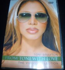 Toni Braxton From Toni With Love The Video Collection (All Region) DVD –Like New