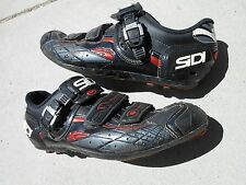 Sidi Spider SRS mountain, sz 45 Euro,US 10.5 Mens, Vernice black ,used