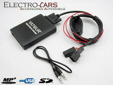 INTERFACE MP3 USB AUDIO AUTORADIO COMPATIBLE BMW SERIE 5 E39 1997 à 2003