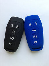 2pcs Fob key Case Cover for FORD Fusion Mustang F-150 LINCOLN MKZ MKC Keyless