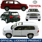 1:41 Toyota Land Cruiser DieCast Model Car Kid Pull Back Friction Powered Toy