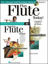 PLAY FLUTE TODAY - INSTRUCTION - LESSON DVD+CD+BOOK