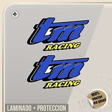 PEGATINA TM RACING TEAM ESPAÑA SPORT MOTOCROSS STICKER AUFKLEBER AUTOCOLLANT