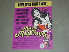 """Love Will Find a Way from """"In Aid of the Mountains""""  Sheet Music"""