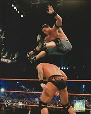 JOHN CENA -VS- RANDY ORTON WWE WRESTLING 8X10 PHOTO NEW #489