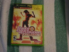Dance Dance Revolution - Ultramix 3  (Xbox, 2005) Rated E10+ for Everyone 10+