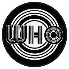 THE WHO - Aufnäher Patch Speaker rund 9x9cm