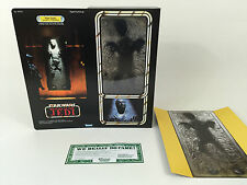 "Custom vintage star wars rotj 12"" han solo in carbonite boîte + inserts"