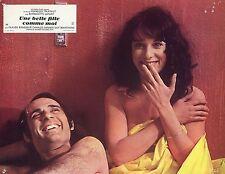 BERNADETTE LAFONT GUY MARCHAND UNE BELLE FILLE COMME MOI 1972 PHOTO VINTAGE 5