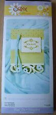Sizzix Bigz XL Die, Card Floral Flourish, 655970, New