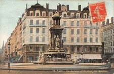 BR78337 lyon la fontaine et la place des jacobins  france