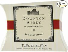 Downton Abbey Premium Teas Gift Assortment, BUY 1 GET 1 FREE, 12 Tea Bags