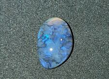 AMAZING COLOR, Mintabie Australia Black Crystal Opal 1.30 CARATS (SEE VIDEO)