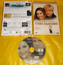 COME ERAVAMO (Barbara Streisand, Robert Redford) - Dvd Jewel ○○○ USATO - BZ