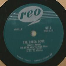78 Rpm Record Jim Lowe The Green Door