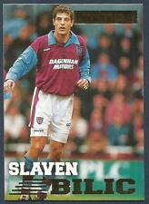MERLIN PREMIER GOLD 1996/97 #150-WEST HAM UNITED & CROATIA-SLAVEN BILIC