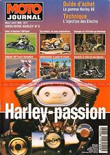 MOTO JOURNAL HS HARLEY DAVIDSON PASSION 1996 Sportster 1200 1410 Turbo Bullet