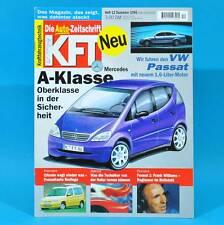 KfT Kraftfahrzeugtechnik 12/1996 Mercedes CLK BMW Z3 Opel Vectra Toyota Camry